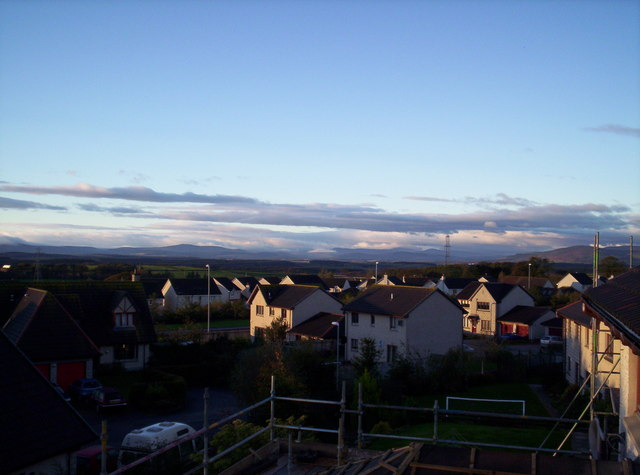 Mearns Hills from Westhill