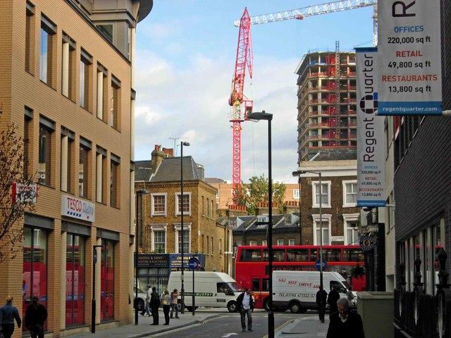 Caledonian Street, King's Cross