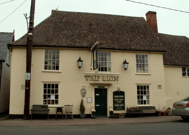 'The Lion' inn, Stoke by Clare, Suffolk