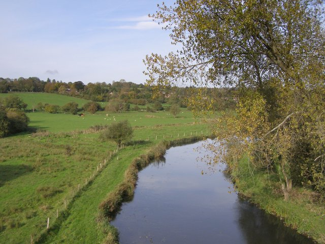 River Itchen from Hockley Viaduct