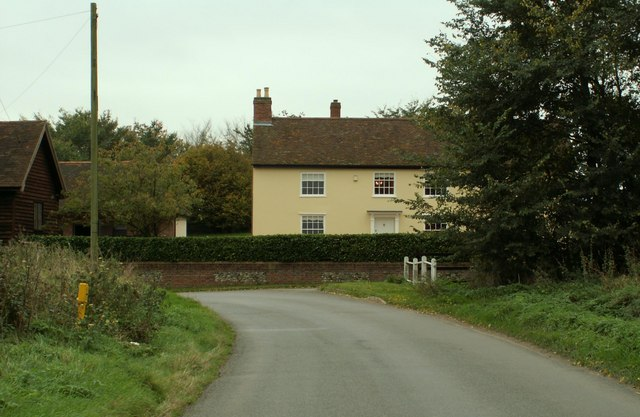 The farmhouse at Wash Farm