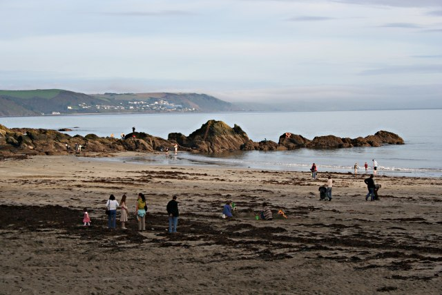 Looe Beach in Late October