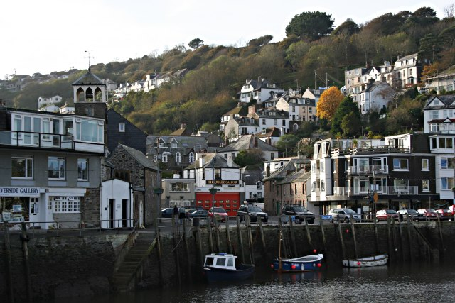 West Looe in the Afternoon Sunlight