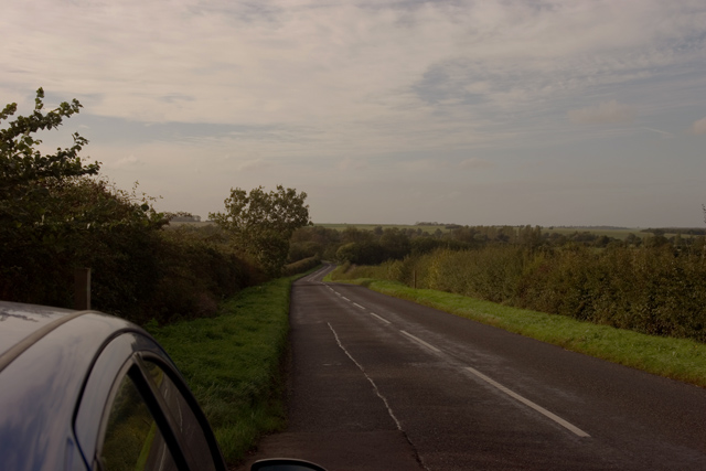 Road from Boxworth to Elsworth
