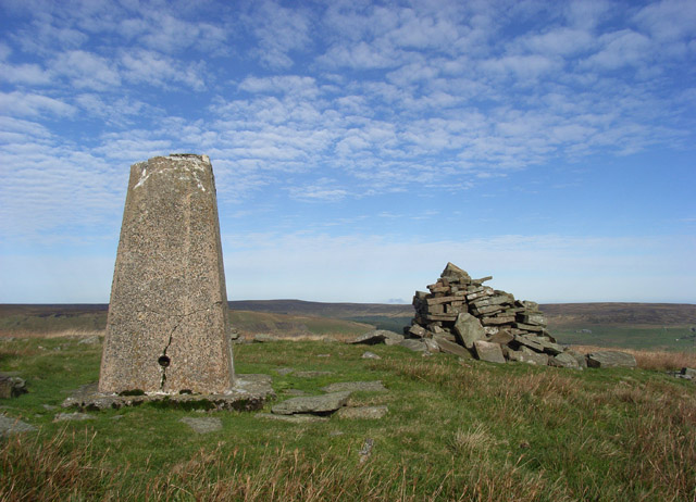 Highwatch Currick and trig point