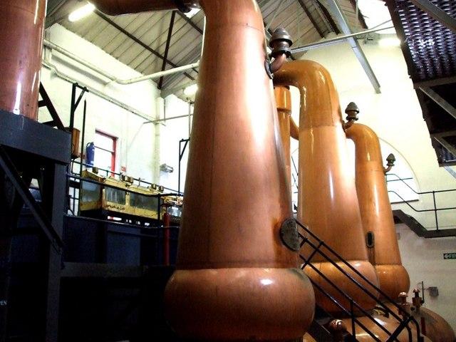 Stills, Tobermory Distillery