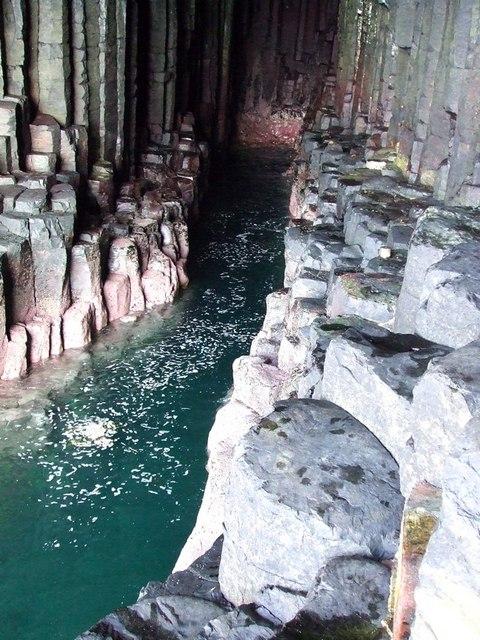 Inside Fingal's Cave