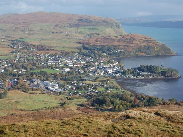 Portree from Suidh Fhinn