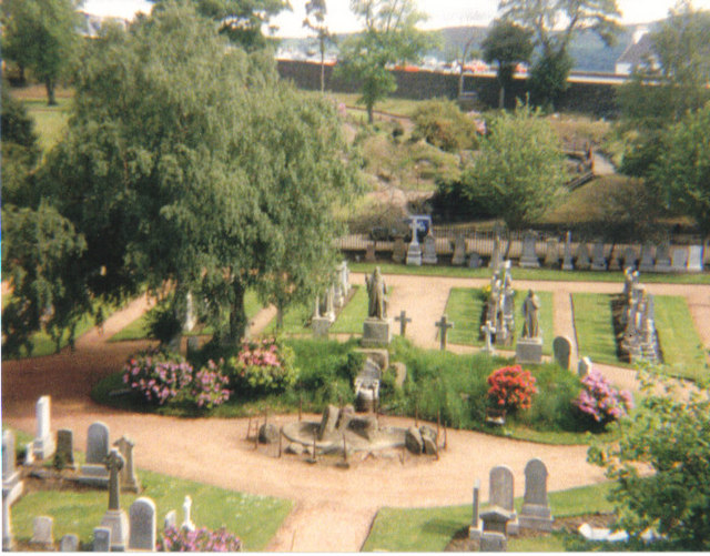 A beautiful cemetery