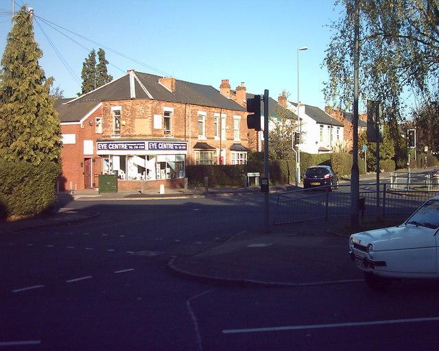 Reddicap Heath crossroads