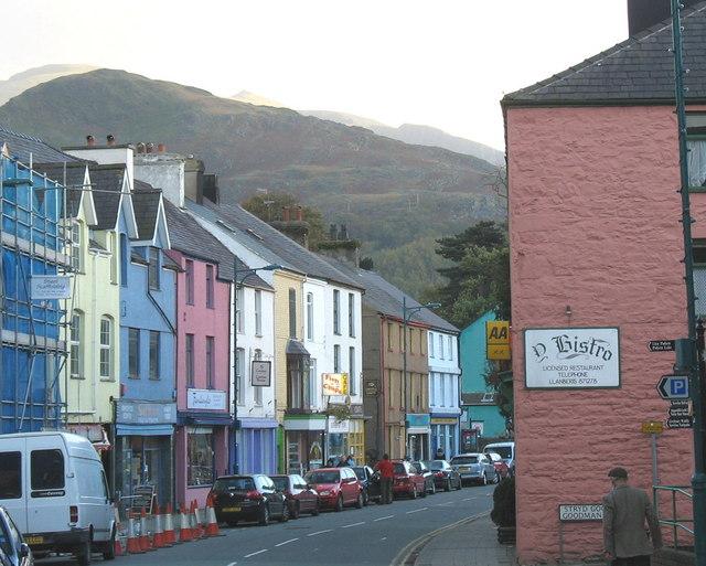 The High Street, Llanberis