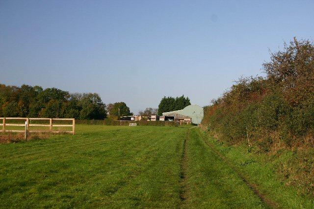 Footpath near Red Lodge