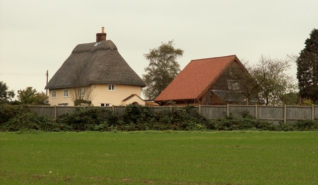Thatched cottage at Pentlow