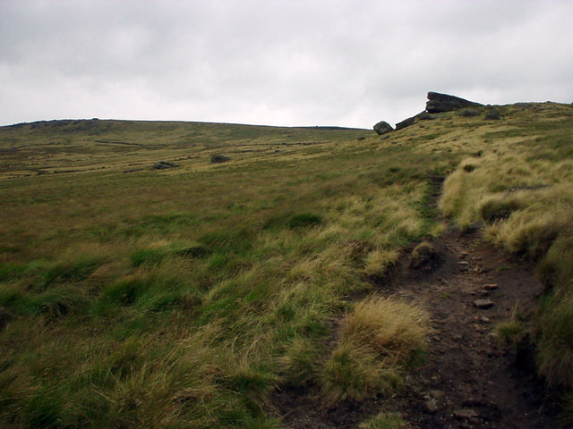 Black Moor to the north of Gorple Upper Reservoir