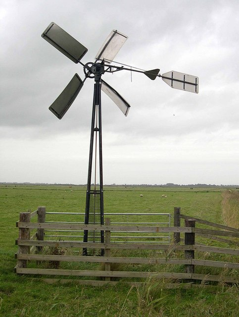 Modern Windpump 1