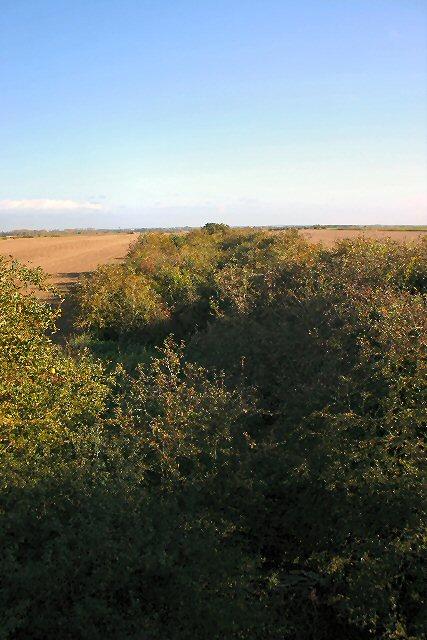 Route of old railway, Isleham