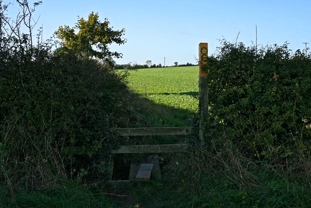 Footpath to Groby
