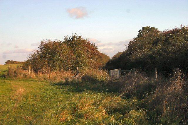 Former railway at Fordham Moor