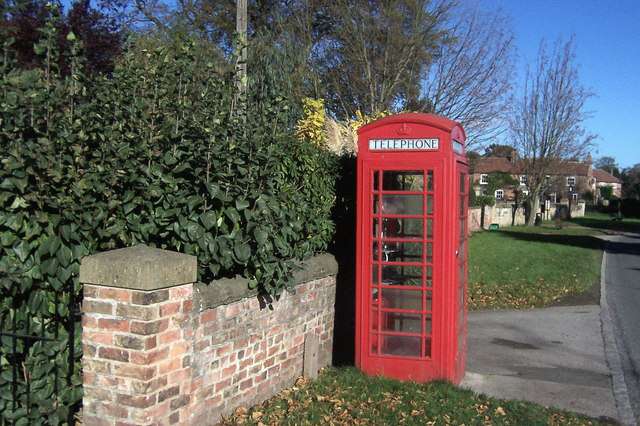 Telephone Box, Roecliffe