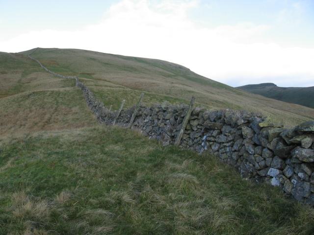 Wall on Colsnaur Hill