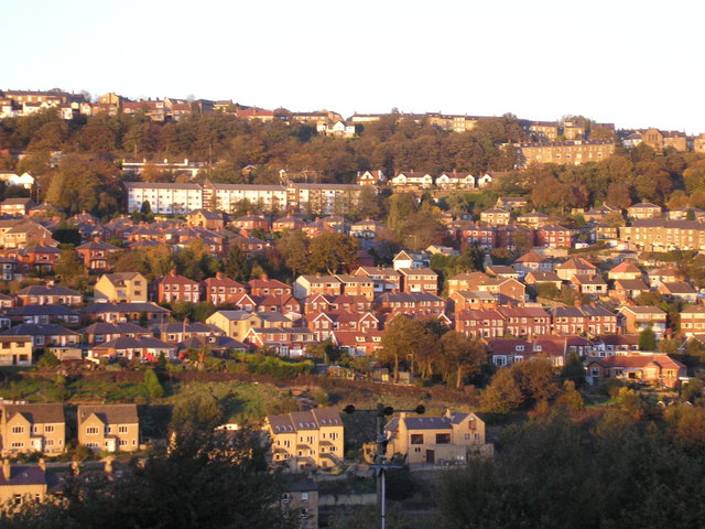 Sun-kissed Sowerby Bridge