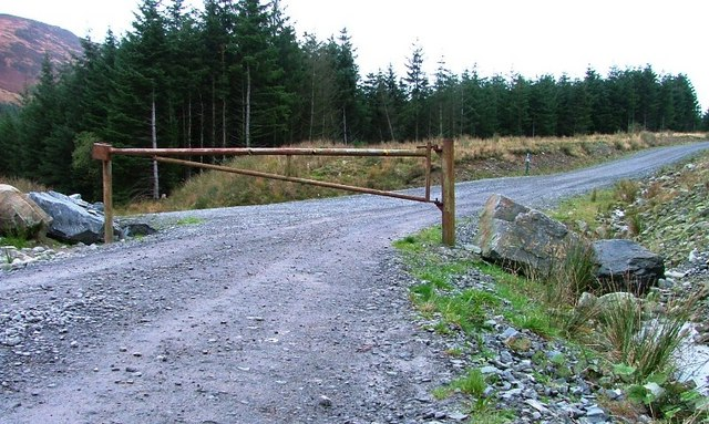 Forestry Gate, Near Kirerroch