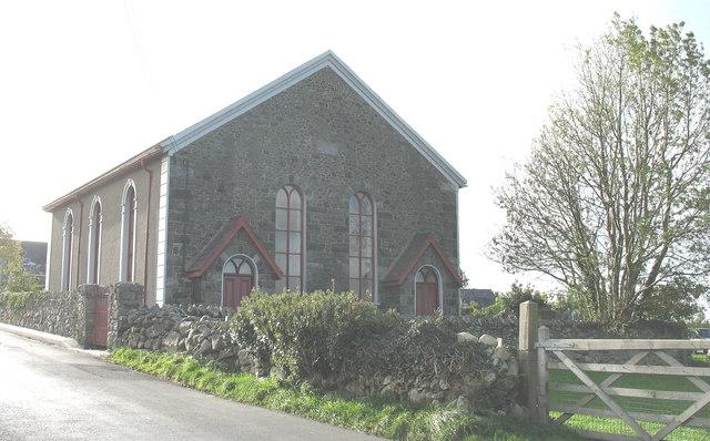 Capel yr Annibynwyr Bryngwyn Independent Chapel