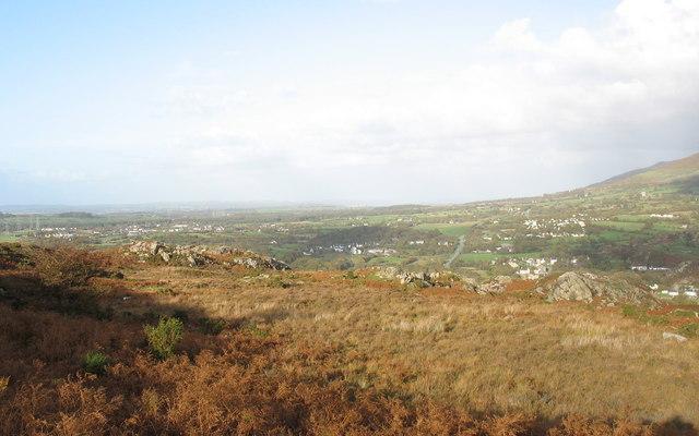A typical Padarn Ridge landscape