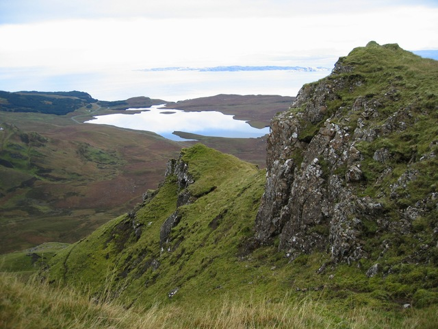 Crags on Ben Dearg