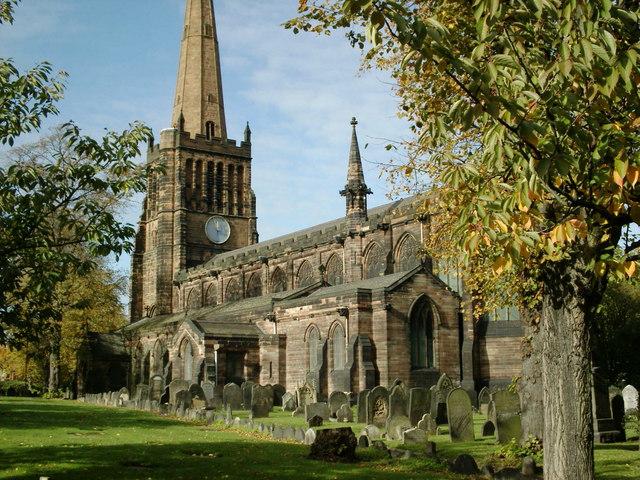 St Peters & St Pauls church Aston