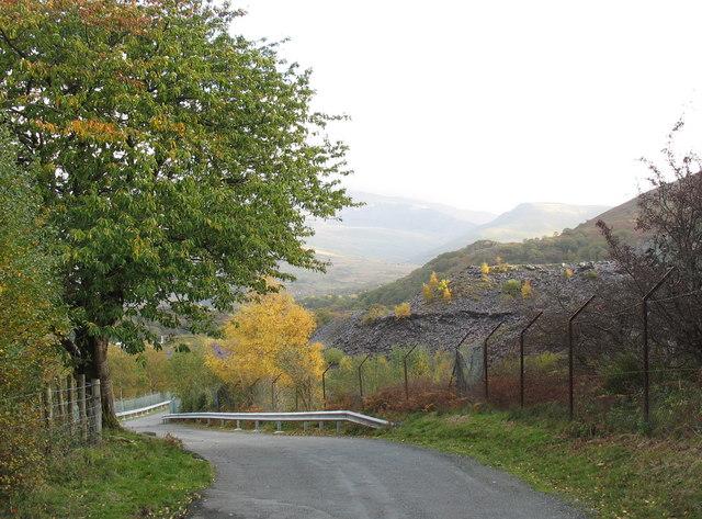 The Glyn Rhonwy Causeway