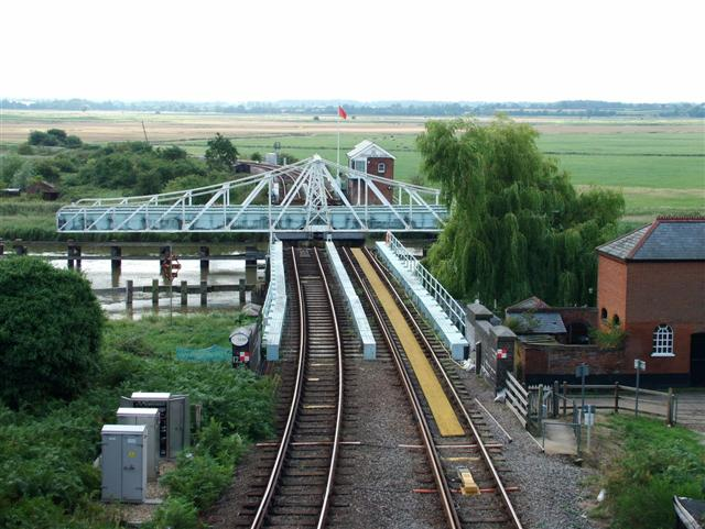 Swing Bridge, Reedham