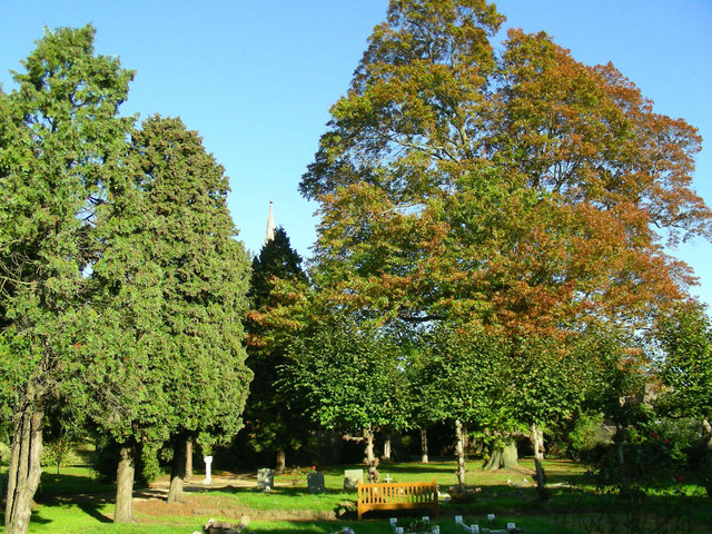 Autumn at St. Mary's Church