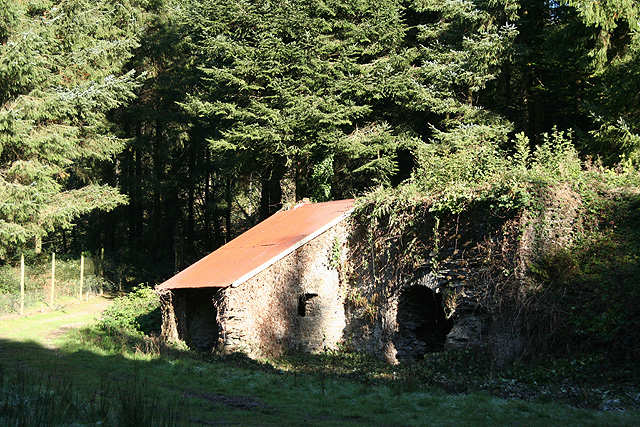 Molland: limekiln, Zeal Wood