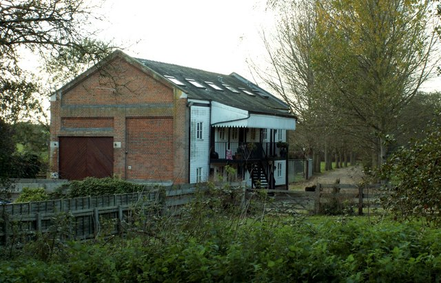 Part of old Glemsford Station
