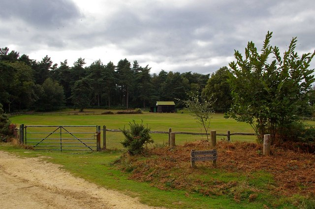 Cricket Pitch on Leith Hill