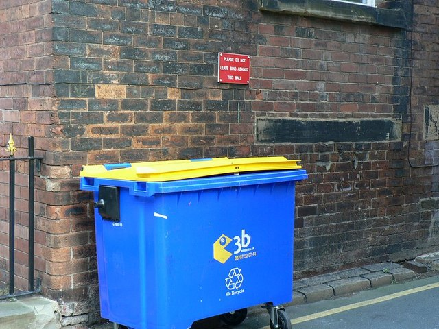 The bin that shouldn't be there, Back York Place