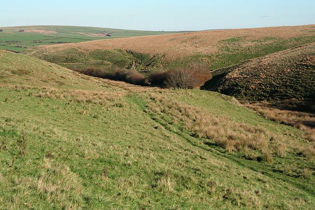 Exmoor: near Mole's Chamber