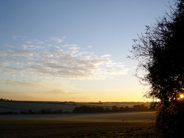 Dawn at South Warnborough