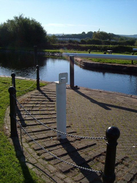 Upper end of Double Locks, Exeter Canal
