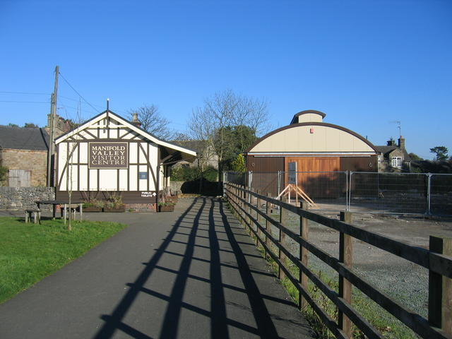 Hulme End Station