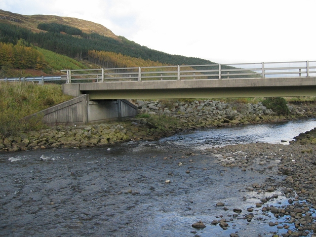 Bridge over the Abhainn Bharagail