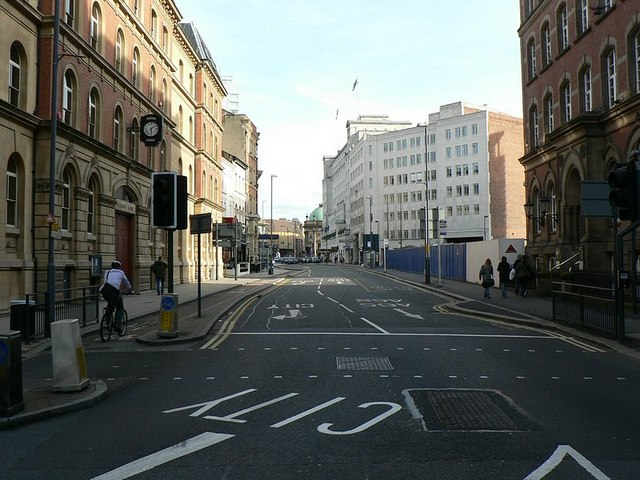 Wellington Street, looking towards City Square