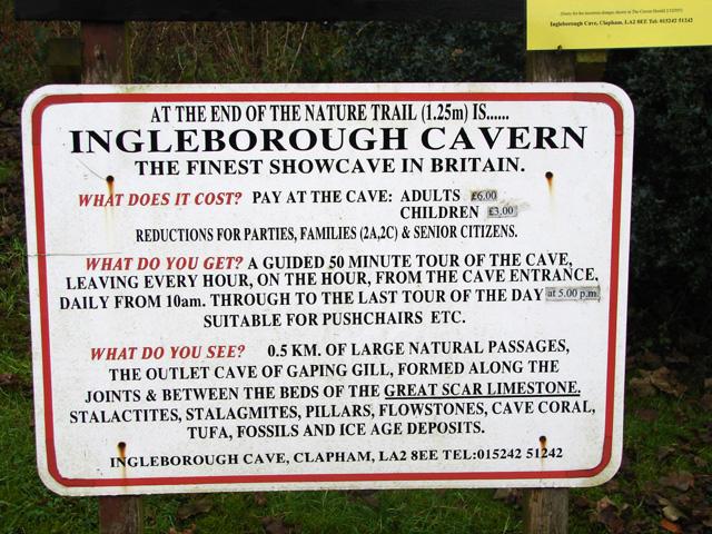 Ingleborough Cavern