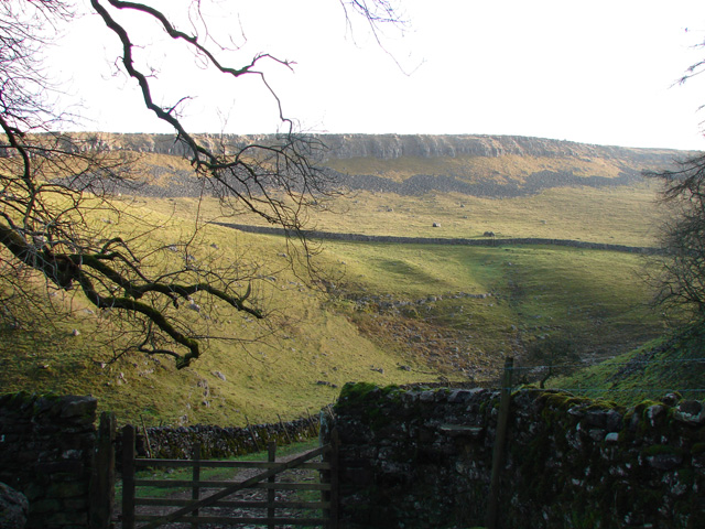 A view towardsThwaite Scars