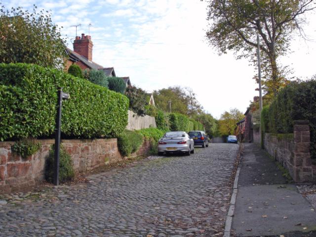 Gayton - view along Gayton Farm Road