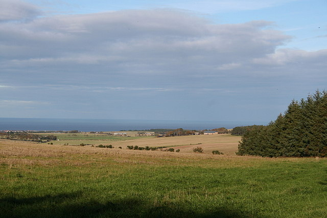 Looking towards Portgordon from Blinkbonny.