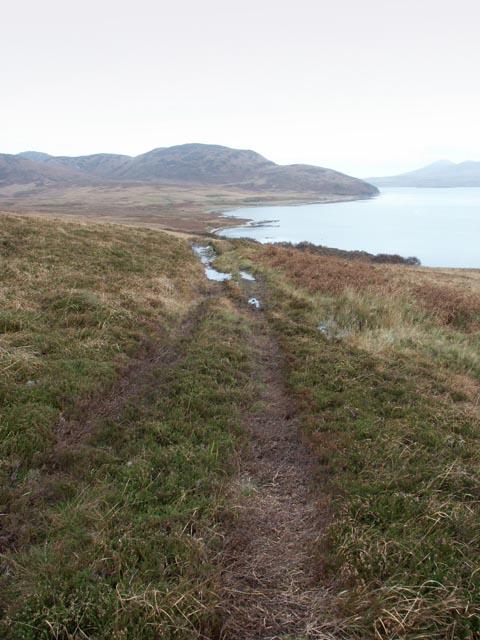 Track to Proaig, Islay