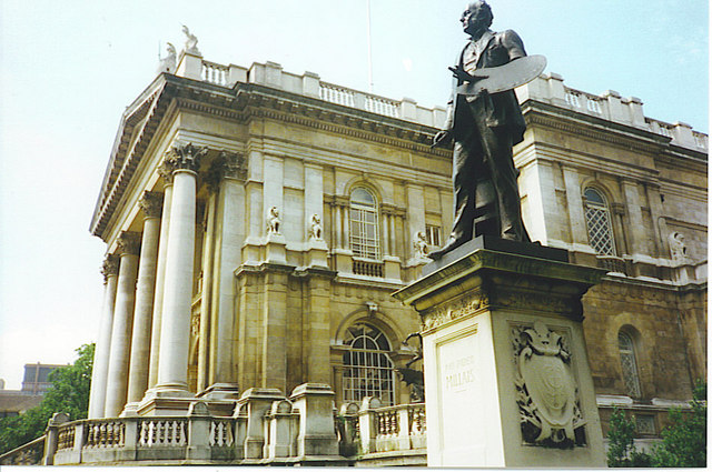Tate Gallery and Millais Statue