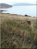 NR4556 : View across moorland towards Proaig Bay, Islay by Claire Pegrum